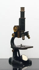 Antique 1915 Bausch & Lomb compound microscope with U of Pit markings