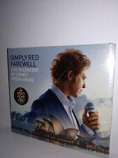 SIMPLY RED FAREWELL LIVE CONCERT SYDNEY OPERA HOUSE CD DVD NUOVO SIGILLATO