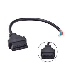 16 Pin Extension Connector Diagnostic Extender OBD2 OBD-II Opening Cable Female
