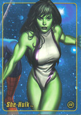 MARVEL FIGURE FACTORY SERIES 1 TRADING CARD NUMBER 48