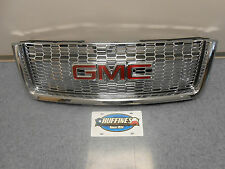 2011-2013 GMC Sierra Chrome Grill OVAL Pattern Denali 22767481
