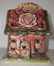 Blue Sky Clayworks Christmas Collection LOVE HOUSE Heather Goldminc NEW w/o BOX