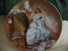 Portraits Of American Brides Caroline 1986 Rob Sauber Collector Plate 1st Issue