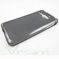 Custodia termoplastica nero trasparente per Alcatel One Touch Star 6010 cover