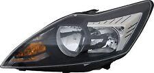 FORD FOCUS 2008-2011 HEADLAMP BLACK&CHROME DRIVER SIDE O.E 1754445 NEW
