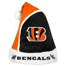 Cincinnati Bengals NFL Football Team Holiday Basic Orange Santa Hat, NEW!