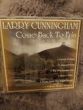 Larry Cunningham Come Back To Erin - 20 Track CD : A Tribute To The Auld Country
