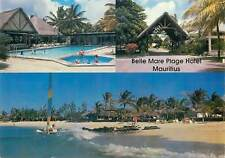 Postcard Mauritius Belle Mare Plage Hotel 1989 different aspects