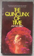 The Quincunx of Time by James Blish PB 1st Dell 7244 - key to space and time