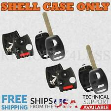 2 for 2009 2010 2011 2012 2013 Honda Fit Remote Shell Case Car Key Fob Cover 3bt