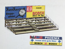 Bauer Bleachers With Advertising Ho Slot Car Building Kit