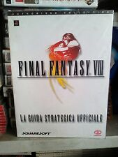 Final fantasy viii ff8 guida strategica italiana nuova sigillata