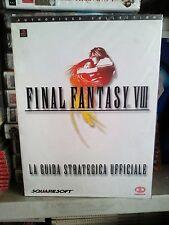 Final fantasy viii ff8 guida strategica italiana nuova sigillata