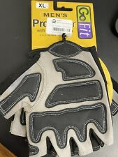 GO FIT PRO TRAINER Men's Training Gloves Sport-Tac Grip Size XL Weightlifting