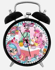 "Shopkins Alarm Desk Clock 3.75"" Home or Office Decor E484 Nice For Gift"