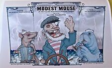 Modest Mouse Poster Reprint for 2009 Concert in Portland Oregon 14X10