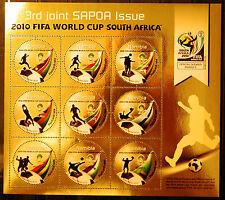 Namibia 2010 SAPOA / Fifa World Cup Mini-Sheet, MNH