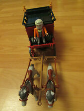 PLAYMOBIL WESTERN WAGON EXPRESS - RARE - USED