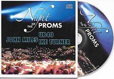 V/A - Night of the Proms 2007 PROMO CD 6TR Belgium 2007 John Miles UB40 RARE