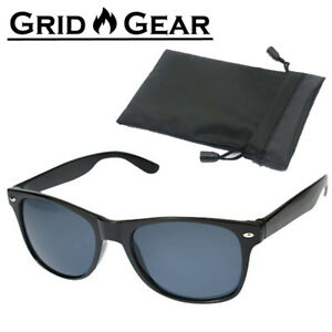 Fishing Cycling Sport Sunglasses Case Black Lens Men Women US Stock Brand New