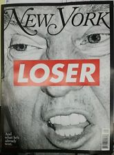 New York Magazine: LOSER: OCTOBER 31-NOVEMBER 13, 2016: Collector's Edition