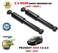 FOR PEUGEOT 5008 1.6 2.0 2009-10/2013 NEW 2 X REAR AXLE SHOCK ABSORBER SET