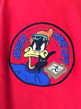 Jc de Castelbajac Men's Daffy Duck Red Sweatshirt