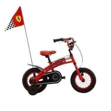 NEW Ferrari CX 10 Kids Bike Sports Style Race Flag Chain Protection Bicycle