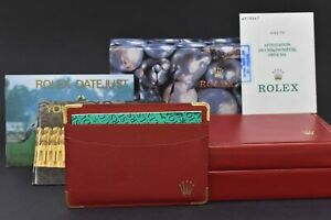 Rolex Vintage Empty Boxes Rolex Oyster & Red Rolex Boxes With Warranty Cards