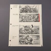 RETURN OF THE JEDI - Production Used Storyboard - Luke vs. Rancor (9)