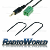 Renault Clio Megane Laguna Aux IN Input Adapter for IPOD/MP3 + Radio Pins/Keys