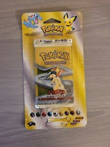 Pokemon Neo Genesis Booster Blister Pack - Factory Sealed - MINT - UNWEIGHED