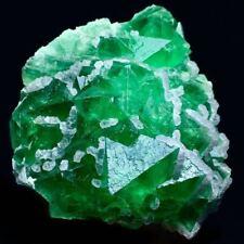 875gNatural Translucent PurpleGreen Octahedral Fluorite Crystal Mineral Specimen