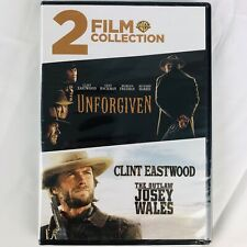 Clint Eastwood Dvd Classic Western Movies - The Outlaw Josey Wales - Unforgiven
