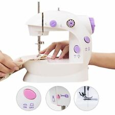 Portable Compact Mini Sewing Machine with Dual Double Threads