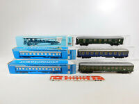 CK736-1 #3x Märklin H0/AC Vagón de Tren D Etc. DB : 4032 +4044 +4051 , Box