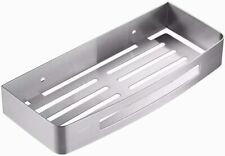 Stainless Steel Shower Shelf Kitchen Bathroom Storage Basket Caddy Rack
