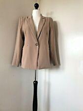 Alexon Women Light Brown Formal Blazer Jacket Size 18 New With Tags RRP £135