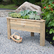 Unbranded Wooden Flower & Plant Raised garden beds Boxes