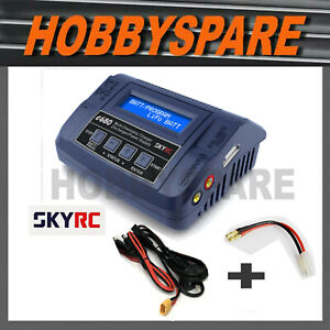 NEW SKYRC E680 AC DC FAST RC BATTERY CHARGER XT60 TAMIYA CHARGE CABLE INCLUDED