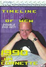 WCW Timeline 1990 Jim Cornette WWE WCW ECW NWO Ric Flair Sting NWA Lex Luger