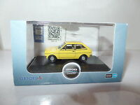 Oxford 76FF003 FF003 1/76 OO Scale Ford Fiesta Jasmine Yellow