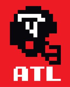 Atlanta Falcons Tecmo Bowl shirt retro nintendo t-shirt Deion Sanders Rison ATL