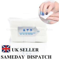 900 LINT FREE NAIL WIPES PADS ART GEL ACRYLIC PEDICURE POLISH REMOVER UV CUTICLE
