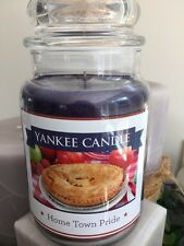 22 OZ YANKEE CANDLE LIMITED EDITION HOME TOWN PRIDE BAKED GOODS LARGE CANDLE PIE