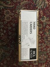New Fine Cloth Ashford Hand Carders Still In Box Never Opened. Hcl 72 Point.