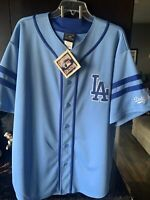 Sandy Koufax Authentic Cooperstown Collection BLUE Jersey Size XL LA Dodgers