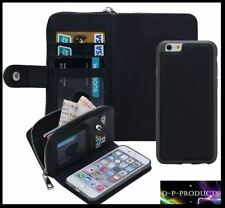 Apple Iphone 5s Purse wallet / with detachable phone holder / IPhone 5 wallet