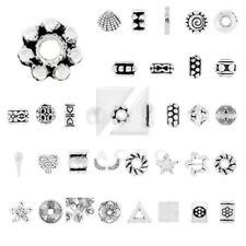 Metallische kugeln im Stil Tibetischen Form &-, Perlen