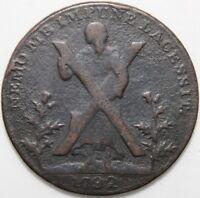 1792 | Edinburgh Lothian Half-Penny Token | Tokens | KM Coins